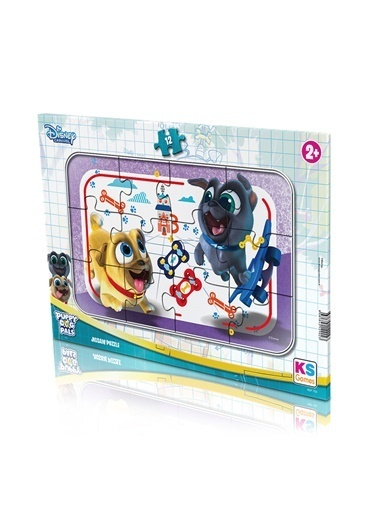 Ks Games  Puppy Dog Pals Frame Puzzle 12 PDP702 Renkli